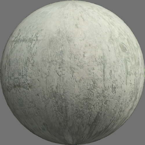 fudsion360レンダリングのコンクリート球