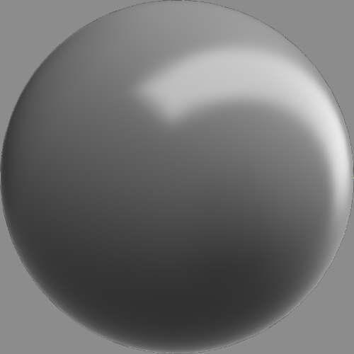 fudsion360レンダリングのベースマテリアル-不透明球
