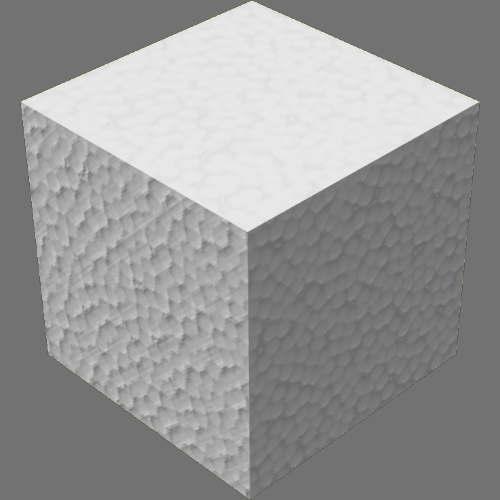 fudsion360レンダリングのポリスチレン適当に編集して適用