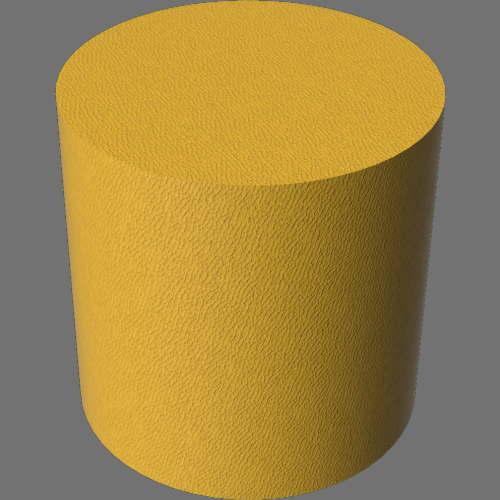 fudsion360レンダリングの外観革-マット円柱