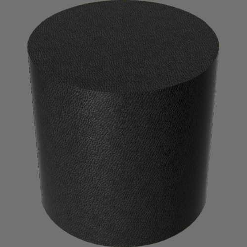 fudsion360レンダリングの外観革-光沢円柱