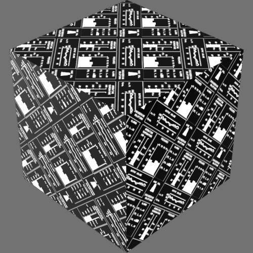fudsion360レンダリングの外観Display - Electrolum