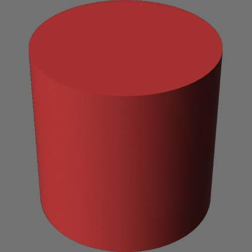 fudsion360レンダリングの外観Fabric (Generic)円柱