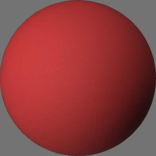 fudsion360レンダリングの外観Fabric (Generic)球
