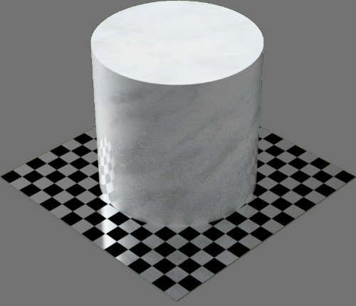 fudsion360レンダリングの大理石円柱