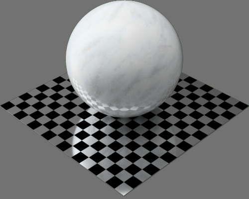 fudsion360レンダリングの大理石球