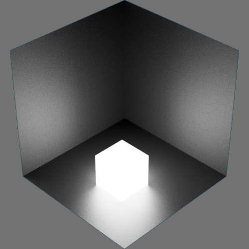 fudsion360レンダリングの放射光の確認