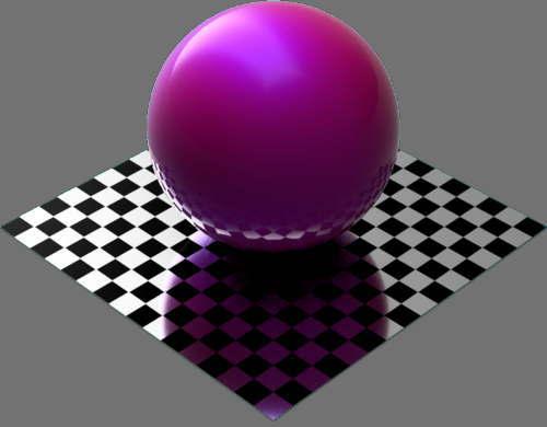 fudsion360レンダリングの積層の拡散光の変更(赤+青)