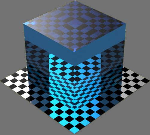 fudsion360レンダリングの透明適当に編集して適用