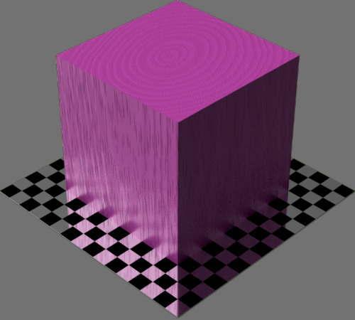 fudsion360レンダリングの3D Cherry-Painted直方体