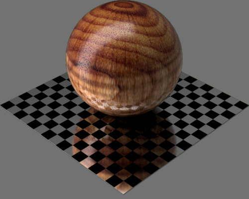 fudsion360レンダリングの3D Curly球