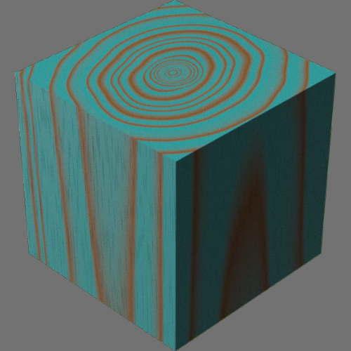 fudsion360レンダリングの3D Mahogany-Cherry適当に編集して適用