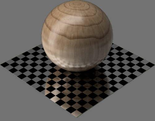 fudsion360レンダリングの3D Maple球