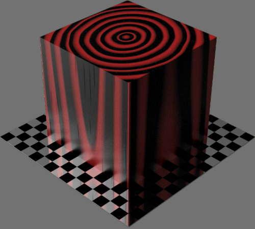 fudsion360レンダリングの3D Pine-Cherry適当に編集して適用