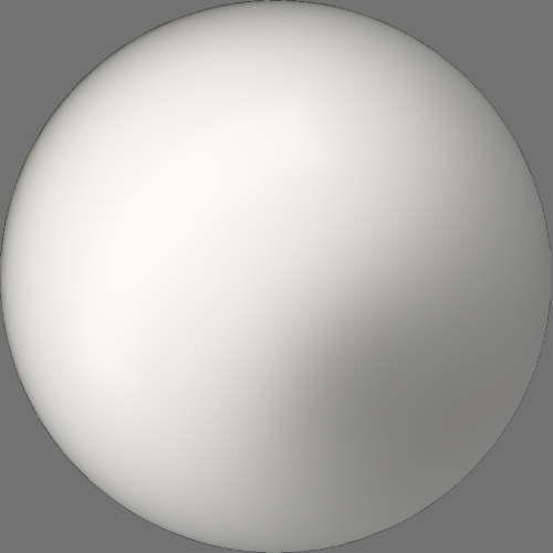 fudsion360レンダリングのBase material-Layered球