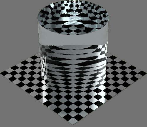 fudsion360レンダリングのwater円柱