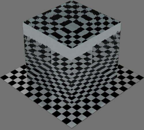 fudsion360レンダリングのwater直方体