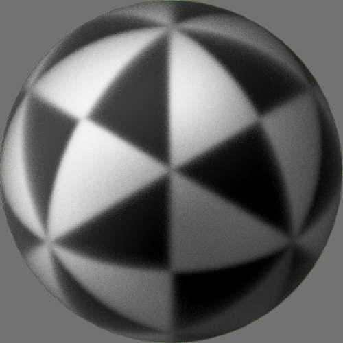 fudsion360 レンダリングのガラス-すり球