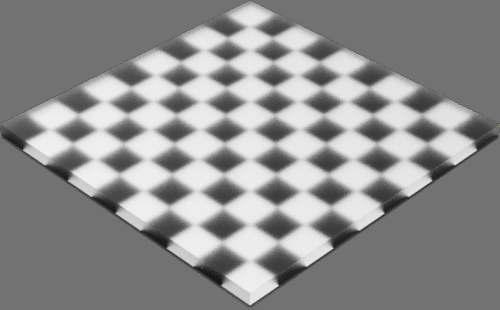 fudsion360 レンダリングのガラス-スリ直方体