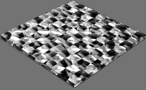 fudsion360 レンダリングのガラス-泡直方体