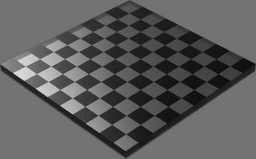 fudsion360 レンダリングのガラス-濃色直方体