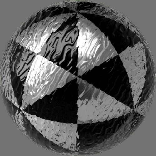 fudsion360 レンダリングのガラス-雲球