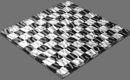 fudsion360 レンダリングのガラス-雲直方体