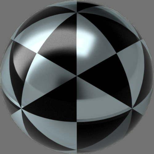 fudsion360 レンダリングの滑らか-ガラス球