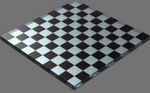 fudsion360 レンダリングの滑らか-ガラス直方体
