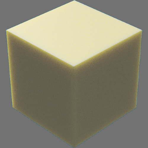 fudsion360 ワックス直方体