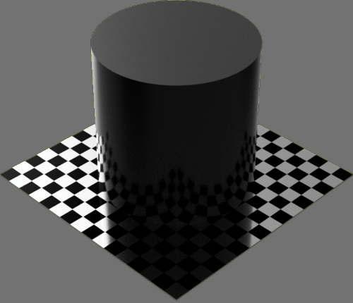 fudsion360 不透明円柱