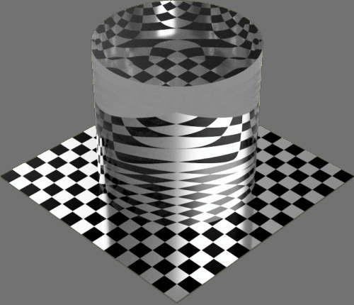 fudsion360 透明円柱