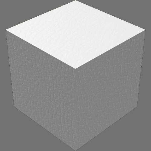 fusion360マテリアルエディタで色の編集後(革-光沢)