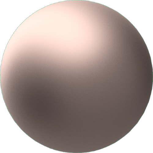 3DCADモデリングの外観をメタルの銅-緑青球