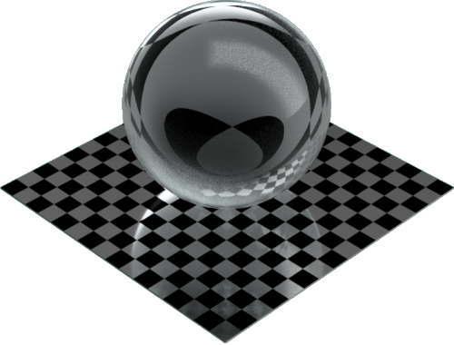 3DCADモデリングの外観を液体の水-クリア球