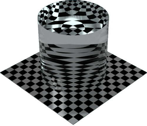 3DCADモデリングの外観を液体の水-スイミングプール円柱