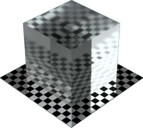 3DCADモデリングの外観を液体の水-波立つ海直方体