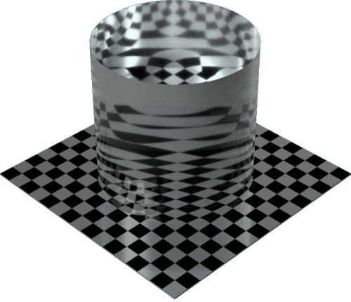 3DCADモデリングの外観を液体の水-穏やかな海円柱
