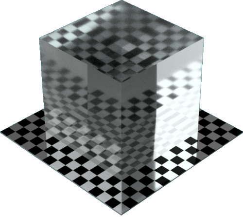 3DCADモデリングの外観を液体の水-穏やかな海直方体