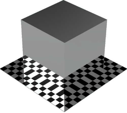 3DCADモデリングの外観を鏡直方体