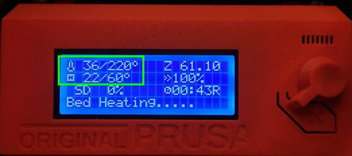 Prusa i3モニター