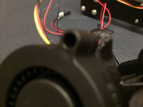 Prusa i3 MK3S プラスティック部品のずれ