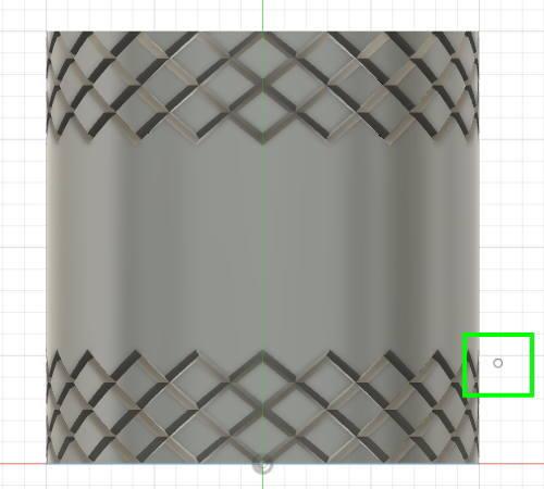 Fusion360で適当な位置に点を作成